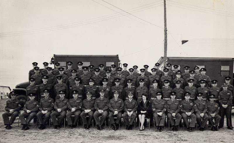 Petawawa (ON) Canada  City new picture : ... OFP Group Photo, Canadian ForcesBase Petawawa,Ontario, Canada, 1965